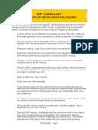 IEP Checklist 4 Parents