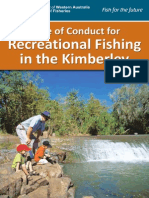 Kimberley Recreational Fishing Code of Conduct