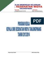 Program Kerja Kepsek Smk Kesehatan Widya Tanjungpinang