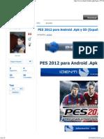 PES 2012 Para Android