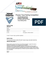 Fishing Competition Registration
