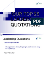 Leadership Quotations