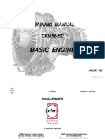 CFM 56 - 5C Basic-Engine