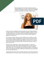 Biografia de Shakira