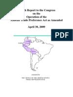 Ustr 2009 Atpa Report Final