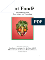 Recent Advances in Food Science and Technology