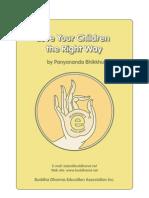 Bringing Up Children According to Buddhist Principles