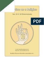 Buddhism as a Religion