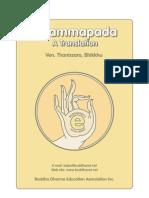 Dhammapada - A Translation