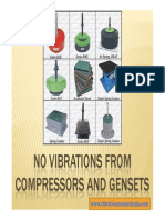 No Vibrations From Compressors and Gensets