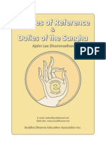 Meditation Instruction and Duties of Sangha Administration
