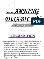 Learning Disability Power Point