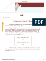 Introduccion en Html5