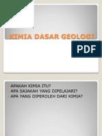 0kimia Dasar Geologi