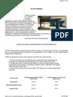 Calculo Filtro Prensa ACS