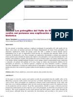 Los Petroglifos de Mala Costa Centro Sur. Una Explicacion Materialista Historica