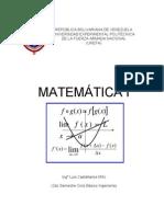 Matematica I (Unefa 2do Semestre)