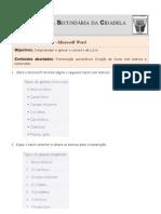 Ficha de Trabalho ITICword_n-3