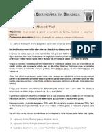 Ficha de Trabalho ITICword_n-4
