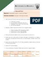 Ficha de Trabalho ITICword_n-6