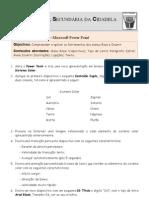 Ficha de Trabalho ITIC Power Point N-5