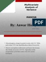 Uji Manova