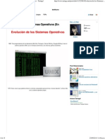 Evolución de los Sistemas Operativos (En Imágenes) - Taringa!