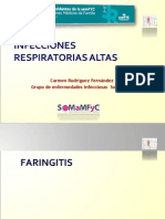 Faringitis Sinusitis Residentes 2011