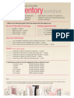 Inventory Decision Worksheet - Candy Carlson