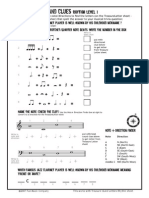 21 Rhythm Fun Music Theory Worksheet