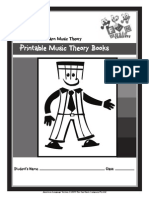 Printable Music Theory Pt1