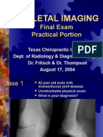 Skeletal Imaging - Summer Final 8-17-04