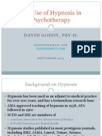The Uses of Hypnosis in Psychotherapy