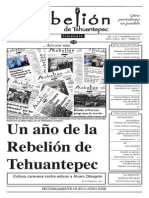 rebelión de tehuantepec