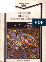 Legende Despre Flori Si Pasari