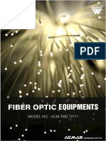 Fiber Optic Equipments