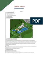 Diseño de Tratamiento Primario - sedimentador