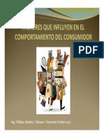 Factores Que Influyen en El Comportamiento Del Consumidor (William Rondon)
