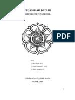 Tugas Basis Data 3 - Dependensi Fungsional