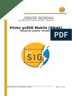 GvSIG Mobile Pilot Man v1 Es