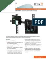 FBM222, Redundant PROFIBUS Communication Interface Module