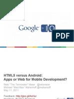Retomeier Html5 Versus Android