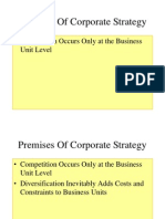 Premises Corporate Strategy