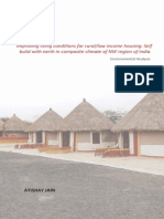 Earth Architecture - Improving Living Conditions for Rural-Low Income Housing - Self Build With Earth