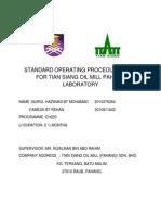Standard Operating Procedure(Cv-li)