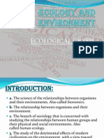 Ecology and Environment -Danish and Ayush