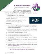 Regulamentul Jamboreei Naționale 2013