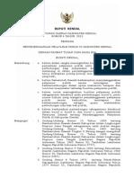Peraturan Daerah Nomor 4 Tahun 2012 Tentang Penyelenggaraan Pelayanan Publik Di Kabupaten Kendal