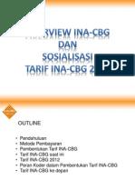 Bahan Presentasi Revisi Tarif INA-CBG 2012