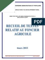 6.Recueil de Textes Foncier